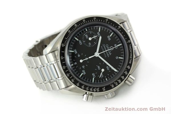 Used luxury watch Omega Speedmaster chronograph steel automatic Kal. 3220 ETA 2892-2  | 142316 03
