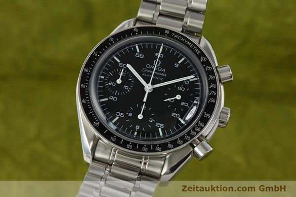Used luxury watch Omega Speedmaster chronograph steel automatic Kal. 3220 ETA 2892-2  | 142316 04