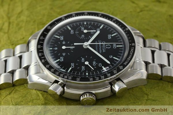 Used luxury watch Omega Speedmaster chronograph steel automatic Kal. 3220 ETA 2892-2  | 142316 05
