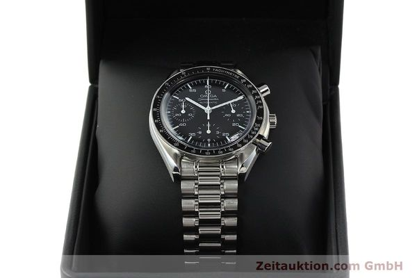 Used luxury watch Omega Speedmaster chronograph steel automatic Kal. 3220 ETA 2892-2  | 142316 07