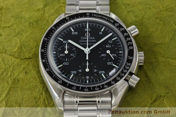 Used luxury watch Omega Speedmaster chronograph steel automatic Kal. 3220 ETA 2892-2  | 142316 14