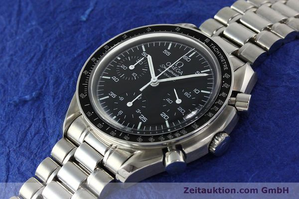 Used luxury watch Omega Speedmaster chronograph steel automatic Kal. 3220 Ref. 35105000  | 142319 01