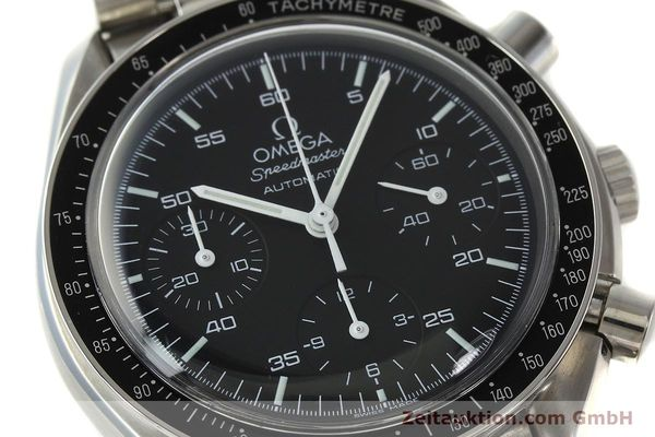 Used luxury watch Omega Speedmaster chronograph steel automatic Kal. 3220 Ref. 35105000  | 142319 02