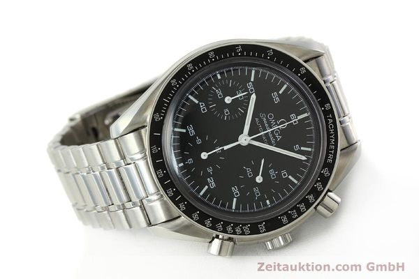 Used luxury watch Omega Speedmaster chronograph steel automatic Kal. 3220 Ref. 35105000  | 142319 03
