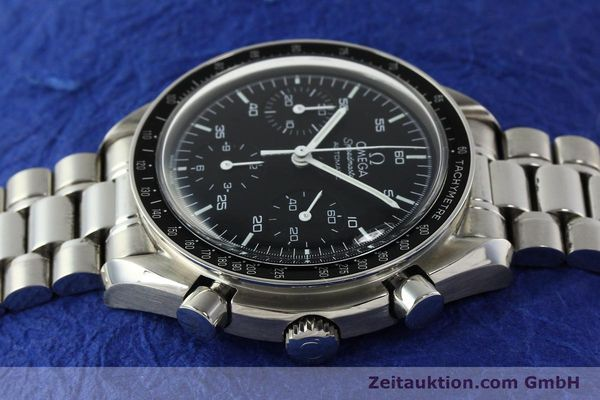 Used luxury watch Omega Speedmaster chronograph steel automatic Kal. 3220 Ref. 35105000  | 142319 05