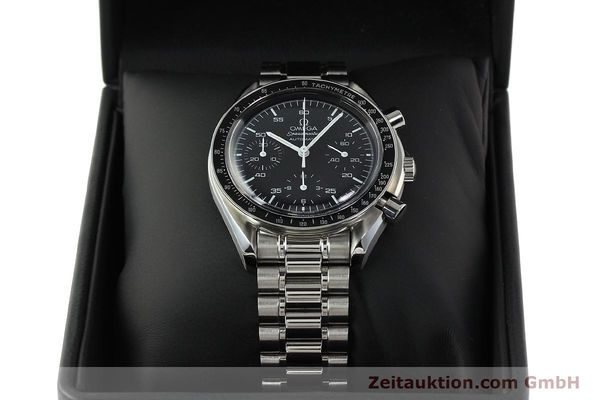 Used luxury watch Omega Speedmaster chronograph steel automatic Kal. 3220 Ref. 35105000  | 142319 07