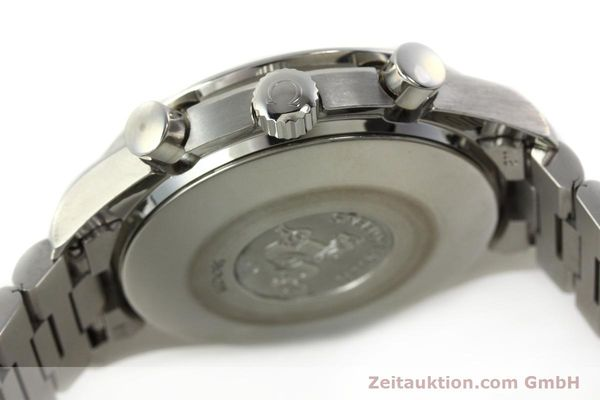 Used luxury watch Omega Speedmaster chronograph steel automatic Kal. 3220 Ref. 35105000  | 142319 12