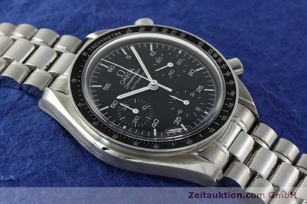 Used luxury watch Omega Speedmaster chronograph steel automatic Kal. 3220 Ref. 35105000  | 142319 16
