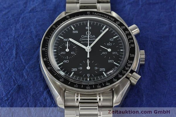 Used luxury watch Omega Speedmaster chronograph steel automatic Kal. 3220 Ref. 35105000  | 142319 17