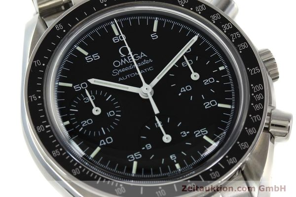 Used luxury watch Omega Speedmaster chronograph steel automatic Kal. 1143 ETA 2890A2  | 142322 02