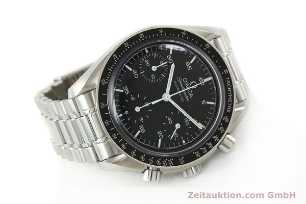 Used luxury watch Omega Speedmaster chronograph steel automatic Kal. 1143 ETA 2890A2  | 142322 03