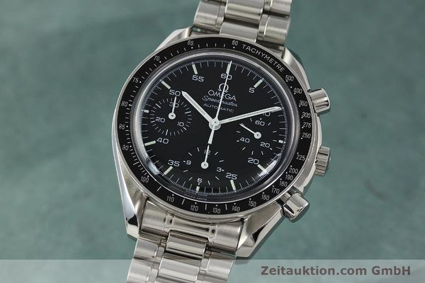 Used luxury watch Omega Speedmaster chronograph steel automatic Kal. 1143 ETA 2890A2  | 142322 04