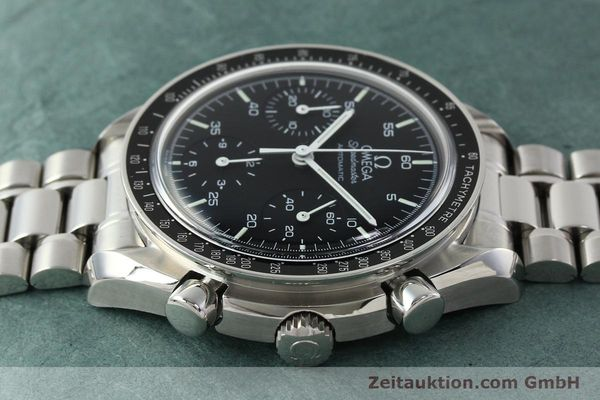 Used luxury watch Omega Speedmaster chronograph steel automatic Kal. 1143 ETA 2890A2  | 142322 05