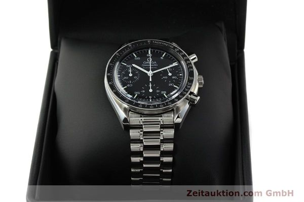 Used luxury watch Omega Speedmaster chronograph steel automatic Kal. 1143 ETA 2890A2  | 142322 07