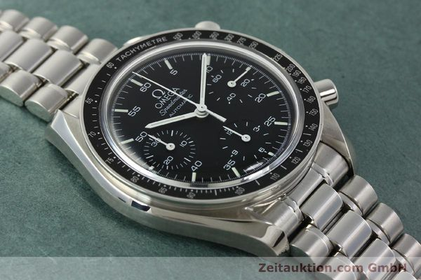Used luxury watch Omega Speedmaster chronograph steel automatic Kal. 1143 ETA 2890A2  | 142322 15