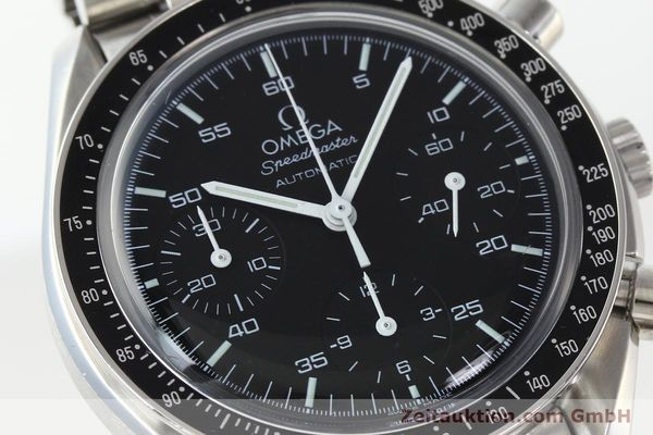 Used luxury watch Omega Speedmaster chronograph steel automatic Kal. 3220  | 142323 02