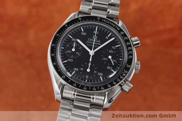 Used luxury watch Omega Speedmaster chronograph steel automatic Kal. 3220  | 142323 04