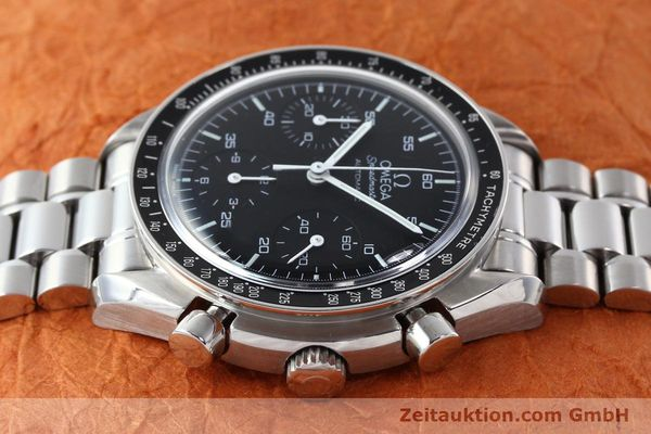 Used luxury watch Omega Speedmaster chronograph steel automatic Kal. 3220  | 142323 05