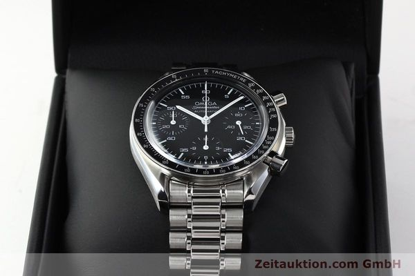Used luxury watch Omega Speedmaster chronograph steel automatic Kal. 3220  | 142323 07