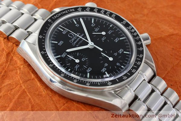 Used luxury watch Omega Speedmaster chronograph steel automatic Kal. 3220  | 142323 15