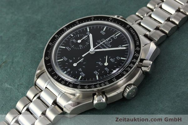 Used luxury watch Omega Speedmaster chronograph steel automatic Kal. 1143 ETA 2890-2  | 142324 01
