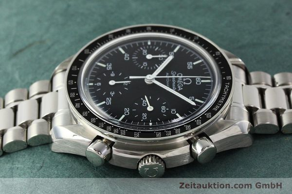 Used luxury watch Omega Speedmaster chronograph steel automatic Kal. 1143 ETA 2890-2  | 142324 05
