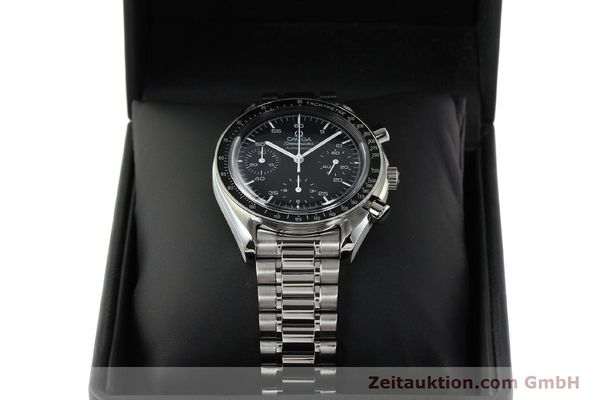 Used luxury watch Omega Speedmaster chronograph steel automatic Kal. 1143 ETA 2890-2  | 142324 07