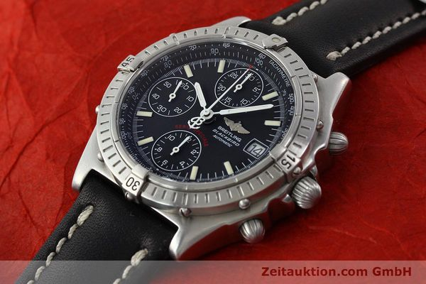Used luxury watch Breitling Chronomat chronograph steel automatic Kal. B13 Ref. A13350  | 142325 01