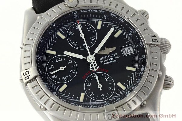 Used luxury watch Breitling Chronomat chronograph steel automatic Kal. B13 Ref. A13350  | 142325 02