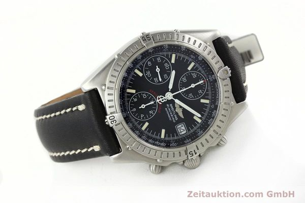 Used luxury watch Breitling Chronomat chronograph steel automatic Kal. B13 Ref. A13350  | 142325 03