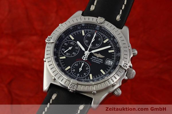Used luxury watch Breitling Chronomat chronograph steel automatic Kal. B13 Ref. A13350  | 142325 04