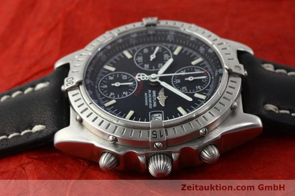 Used luxury watch Breitling Chronomat chronograph steel automatic Kal. B13 Ref. A13350  | 142325 05