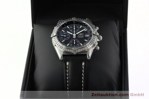 Used luxury watch Breitling Chronomat chronograph steel automatic Kal. B13 Ref. A13350  | 142325 07