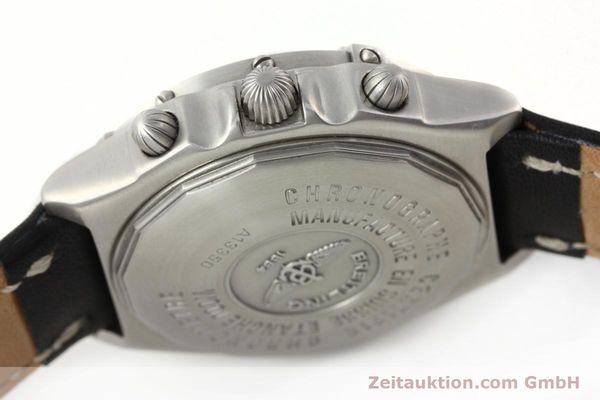 Used luxury watch Breitling Chronomat chronograph steel automatic Kal. B13 Ref. A13350  | 142325 11