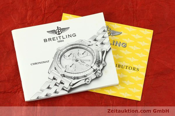 Used luxury watch Breitling Chronomat chronograph steel automatic Kal. B13 Ref. A13350  | 142325 12