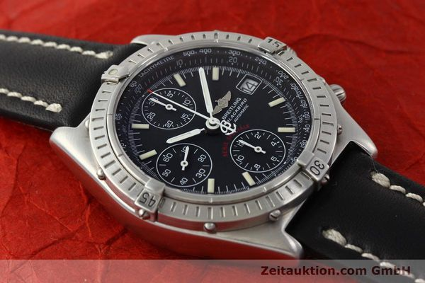 Used luxury watch Breitling Chronomat chronograph steel automatic Kal. B13 Ref. A13350  | 142325 15