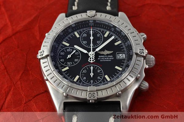 Used luxury watch Breitling Chronomat chronograph steel automatic Kal. B13 Ref. A13350  | 142325 16