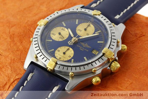 Used luxury watch Breitling Chronomat chronograph steel / gold automatic Kal. B13 VAL 7750 Ref. 81950B13047  | 142326 01