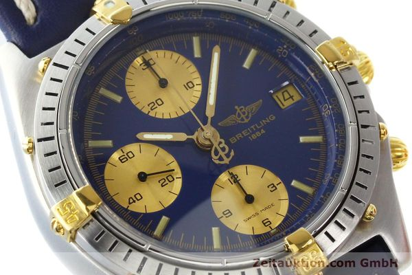 Used luxury watch Breitling Chronomat chronograph steel / gold automatic Kal. B13 VAL 7750 Ref. 81950B13047  | 142326 02