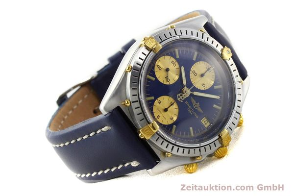 Used luxury watch Breitling Chronomat chronograph steel / gold automatic Kal. B13 VAL 7750 Ref. 81950B13047  | 142326 03