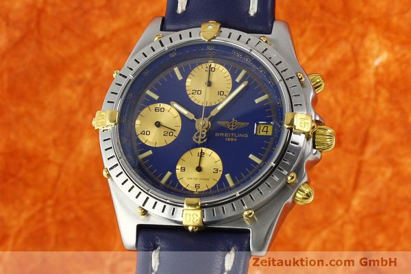 Used luxury watch Breitling Chronomat chronograph steel / gold automatic Kal. B13 VAL 7750 Ref. 81950B13047  | 142326 04