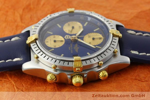 Used luxury watch Breitling Chronomat chronograph steel / gold automatic Kal. B13 VAL 7750 Ref. 81950B13047  | 142326 05