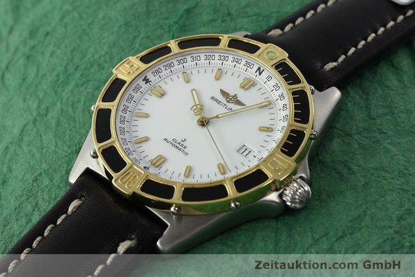 Used luxury watch Breitling J-Class steel / gold automatic Kal. ETA 2892-2 Ref. 80250  | 142327 01