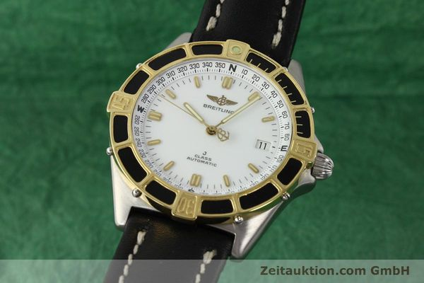Used luxury watch Breitling J-Class steel / gold automatic Kal. ETA 2892-2 Ref. 80250  | 142327 04