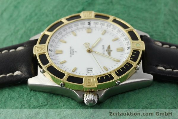 Used luxury watch Breitling J-Class steel / gold automatic Kal. ETA 2892-2 Ref. 80250  | 142327 05