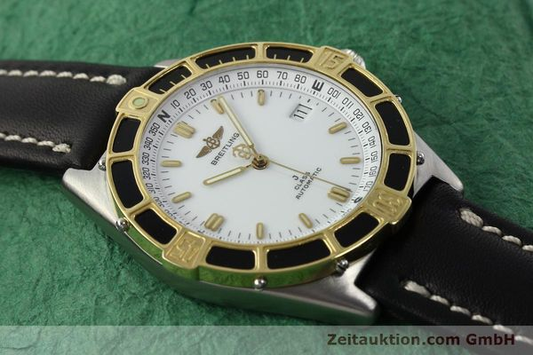 Used luxury watch Breitling J-Class steel / gold automatic Kal. ETA 2892-2 Ref. 80250  | 142327 13