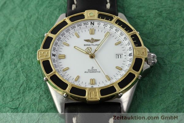 Used luxury watch Breitling J-Class steel / gold automatic Kal. ETA 2892-2 Ref. 80250  | 142327 14