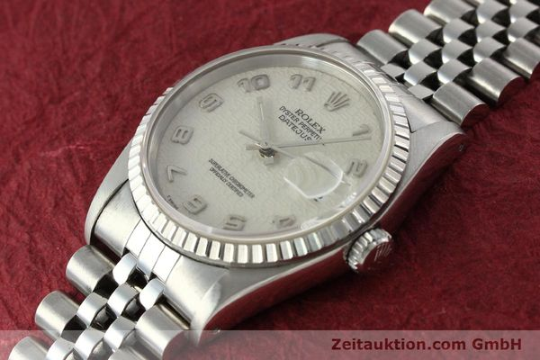 Used luxury watch Rolex Datejust steel automatic Kal. 3135 Ref. 16220  | 142330 01