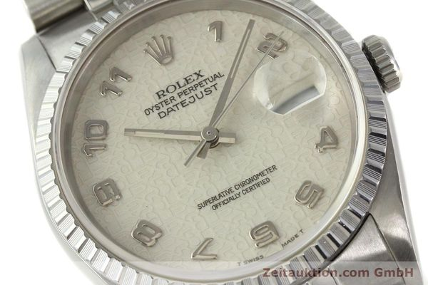 Used luxury watch Rolex Datejust steel automatic Kal. 3135 Ref. 16220  | 142330 02