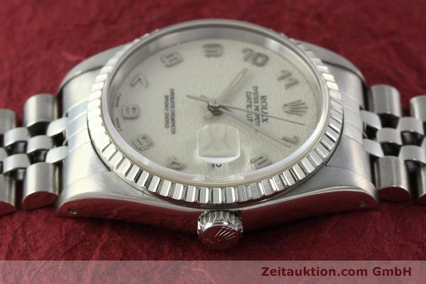 Used luxury watch Rolex Datejust steel automatic Kal. 3135 Ref. 16220  | 142330 05